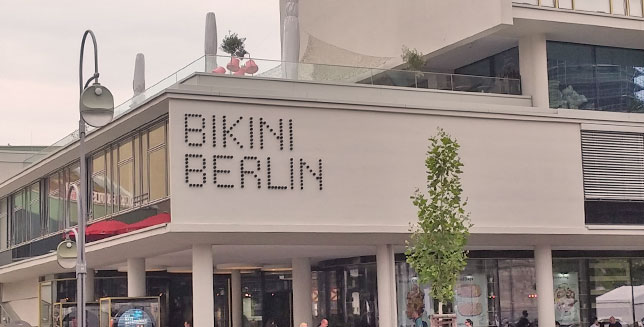 Bikini Berlin's User Experience