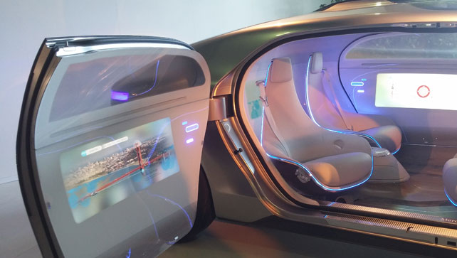 How Not to Showcase a Car: The Mercedes-Benz F 015